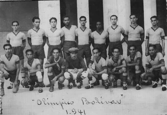 Equipo Olímpico Bolívar, 1941.