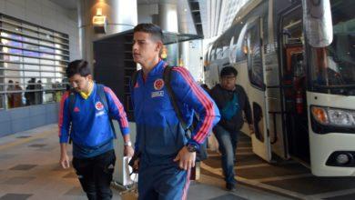 Selección Colombia - Llegada a Corea del Sur