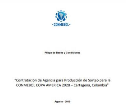 Calendario Eliminatorias Sudamericanas 2020.Es Oficial Cartagena Sera La Sede Del Sorteo De La Copa