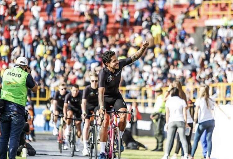 Andrés Higuita se lleva la cuarta etapa del Tour Colombia 2.1